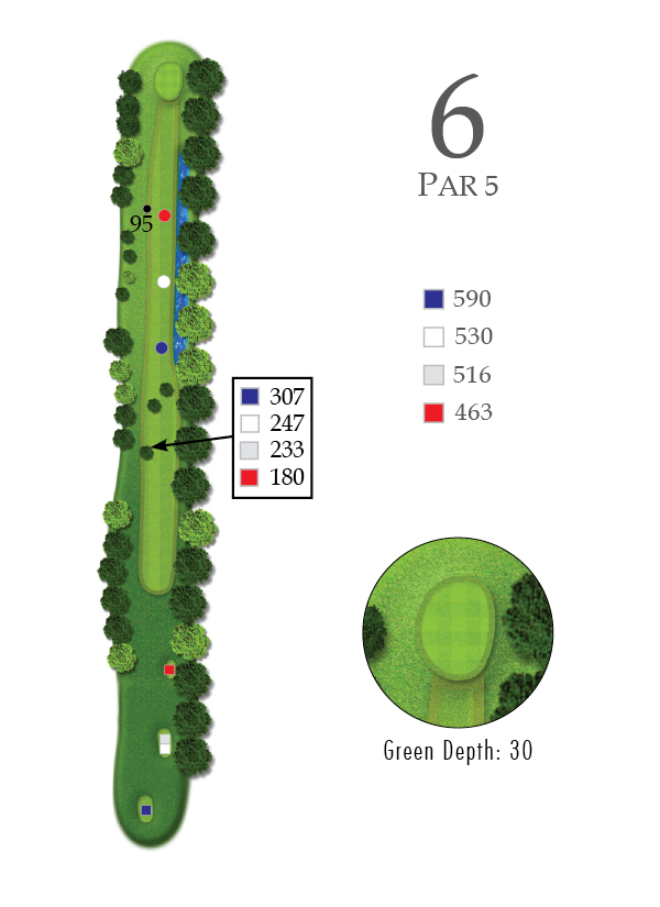 Course Guide Hole 6