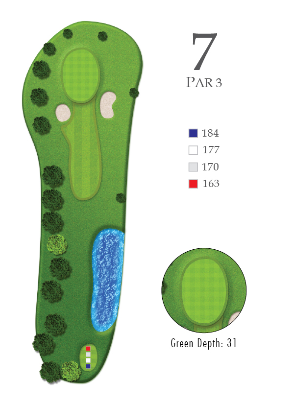 Course Guide Hole 7