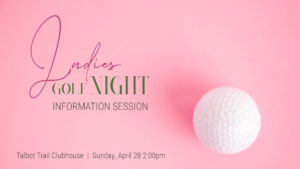 Ladies Night Info Session